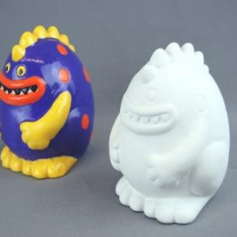 Tiny Tot Spike (Monster) Ceramic